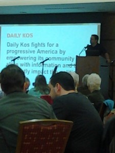 Daily Kos meeting