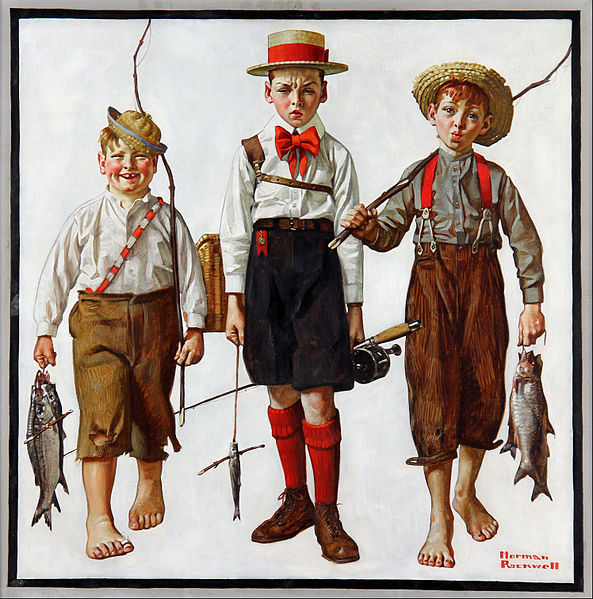 Norman Rockwell - Catch, The