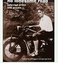 Young Don West on a Motorcycle Northern Illinois University, Book Cover